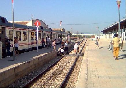 Estación con trinchera